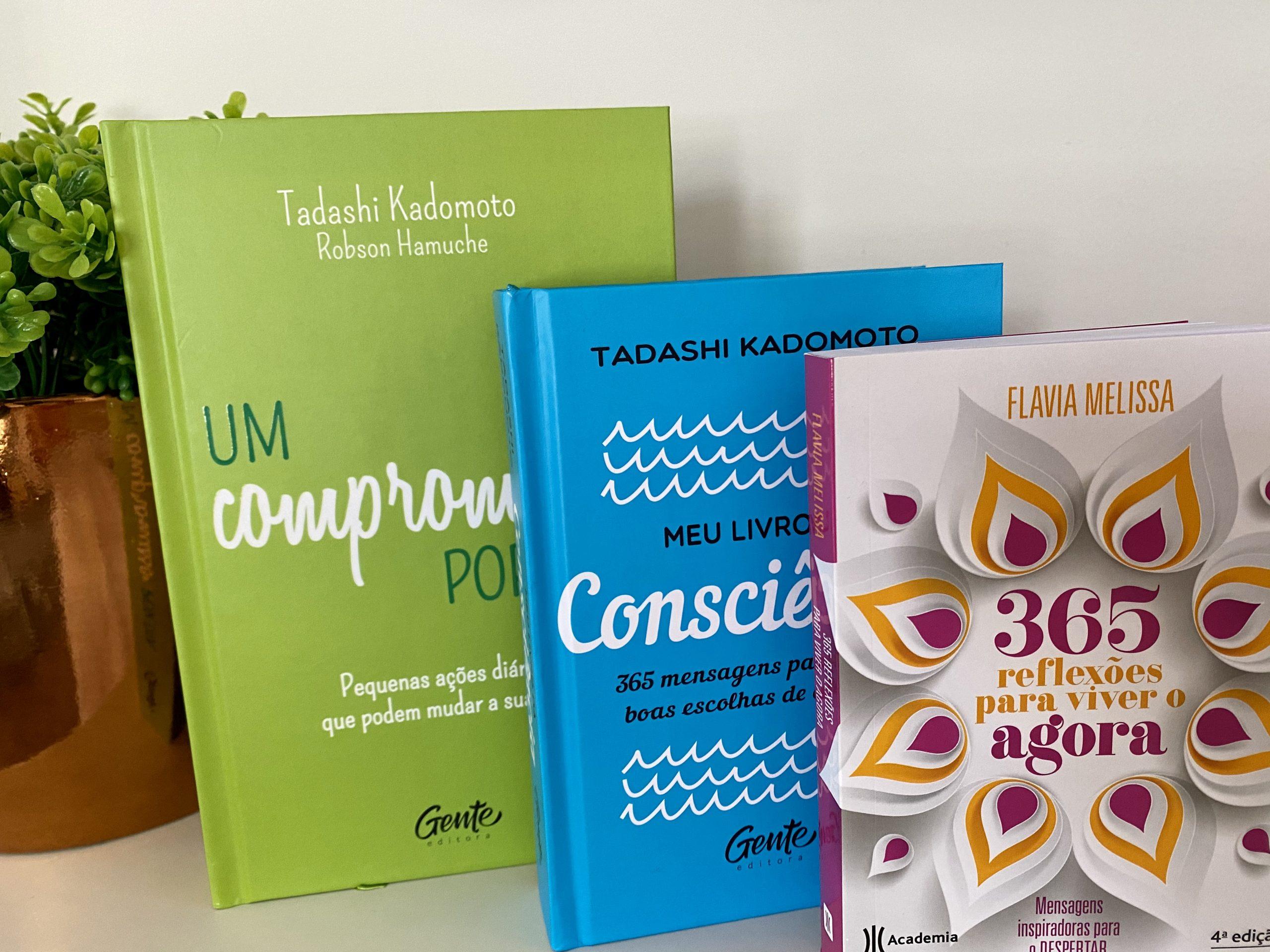 Três livros para ter sempre ao seu lado